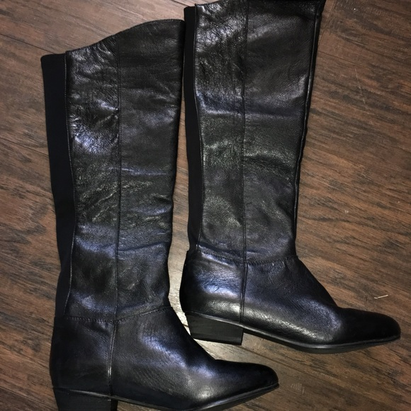 416f3c79df4 ⚡️SALE! ⚡️Leather Steve Madden Over the Knee Boots
